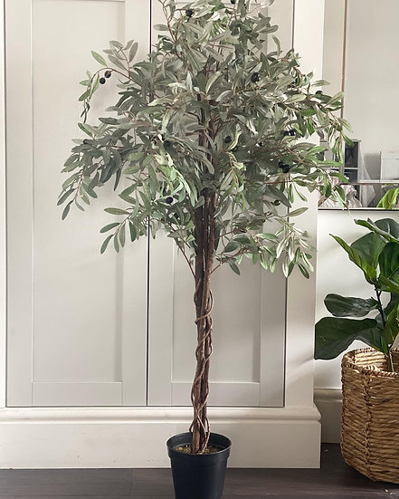 Faux olive tree 130cm