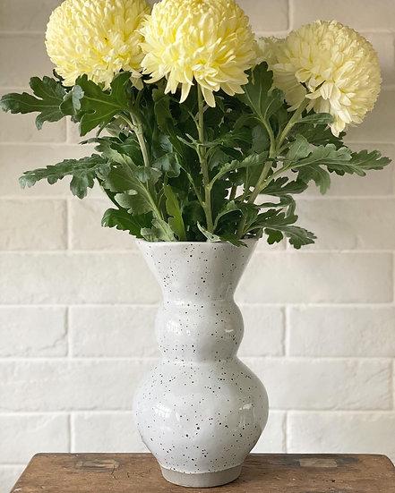 Lydia grey vase