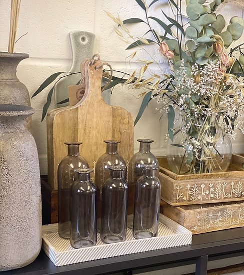 Smoked vase
