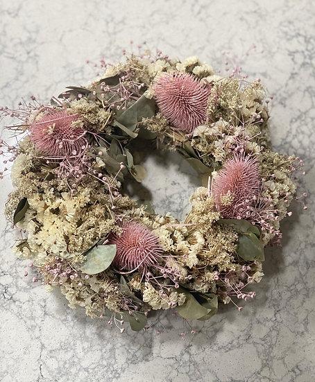Autumnal pastel wreath