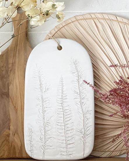 Fern stoneware board