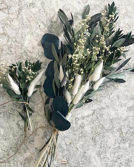 Olive bud bundle or mini bouquet
