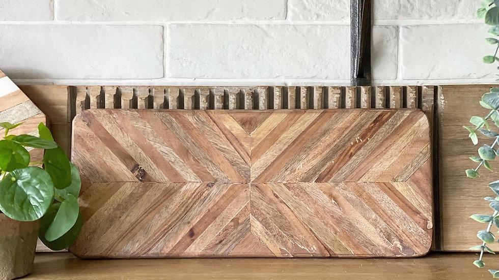 Herringbone board