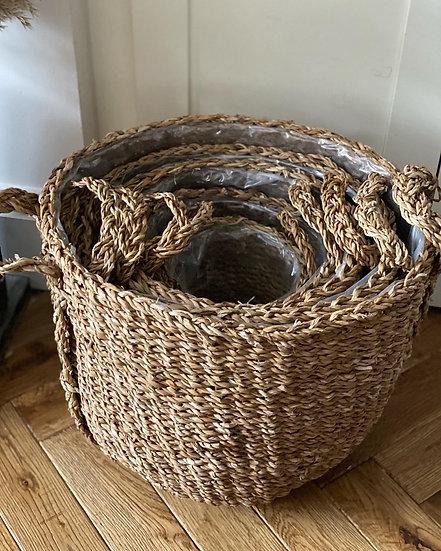 1- smallest woven basket