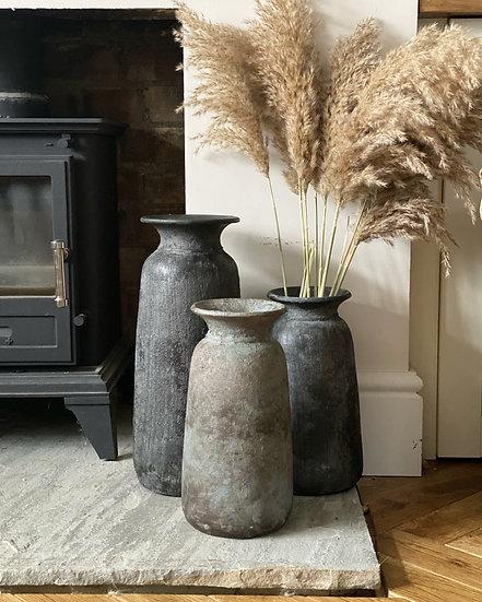 Bali vase black (40cm)