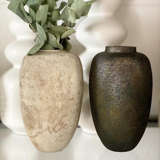Nora textured vase