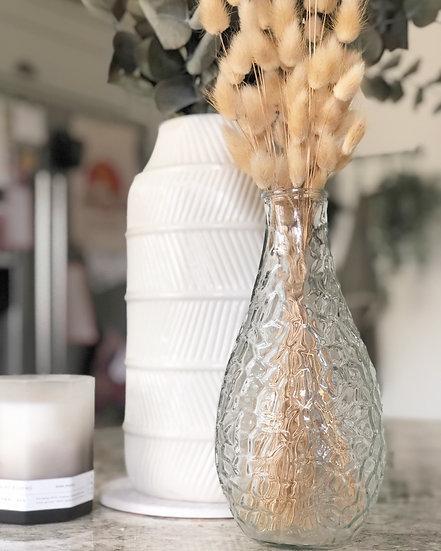 Dimpled large vase 24cm