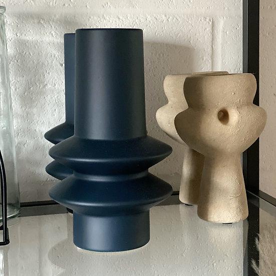 Mila navy vase