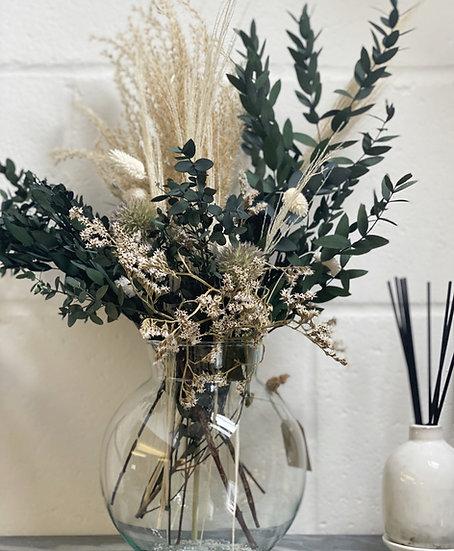 Bria bouquet and vase bundle