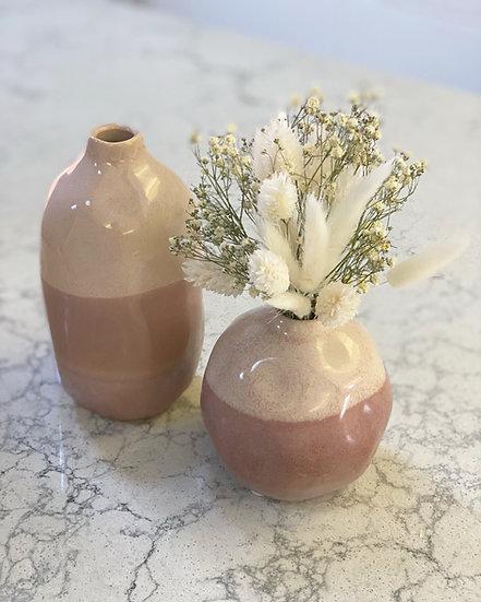 Erin pink vase
