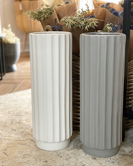 Vienna ceramic floor vase