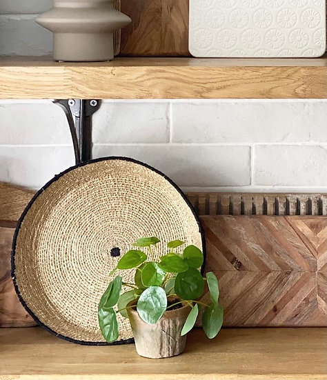 Seagrass serving tray
