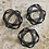Thumbnail: Matte black decorative ball