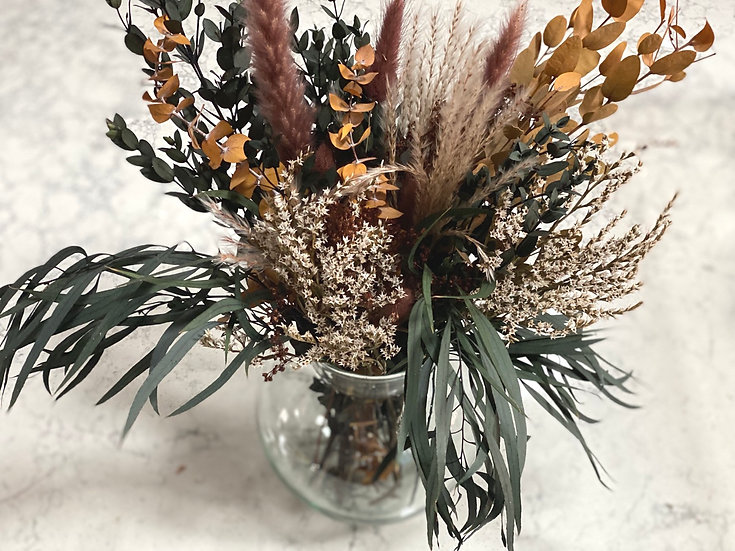 The Fall bouquet (not including the vase)