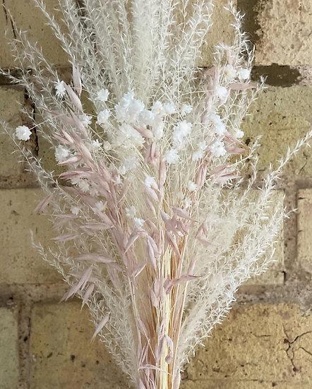 Pink oat mini bouquet