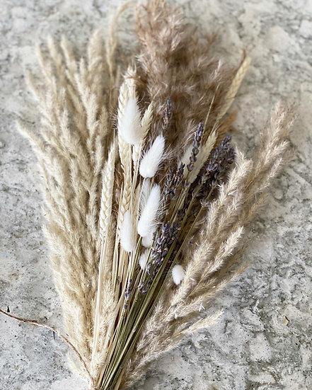 Lavender pampas mini bouquet