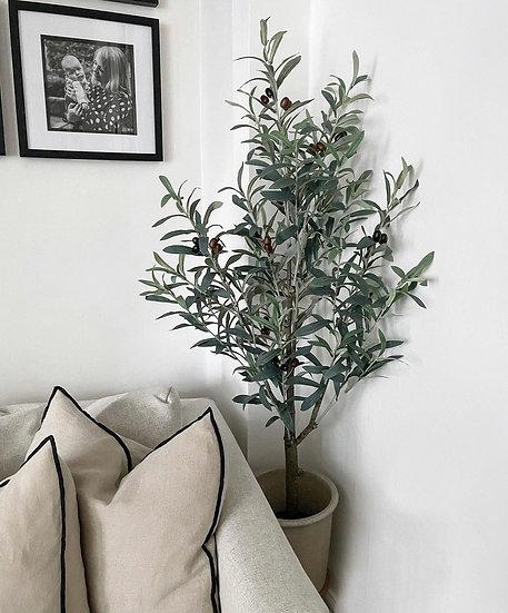 Faux olive tree