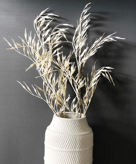 Faux rice grass
