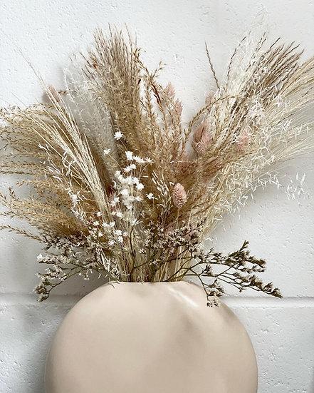 Large fluffy blush bouquet