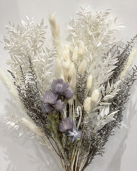 Everlasting flower large dried bouquet