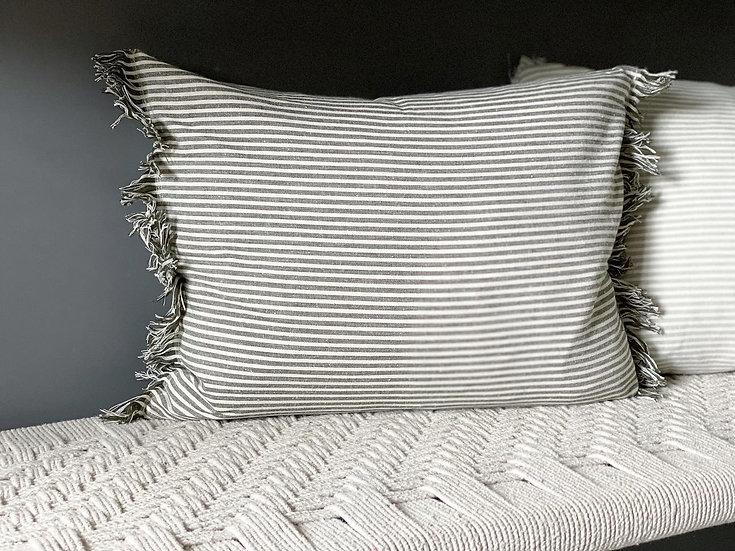 Stripe cushions