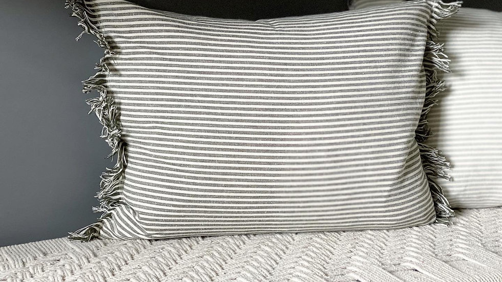 Stripe cushions