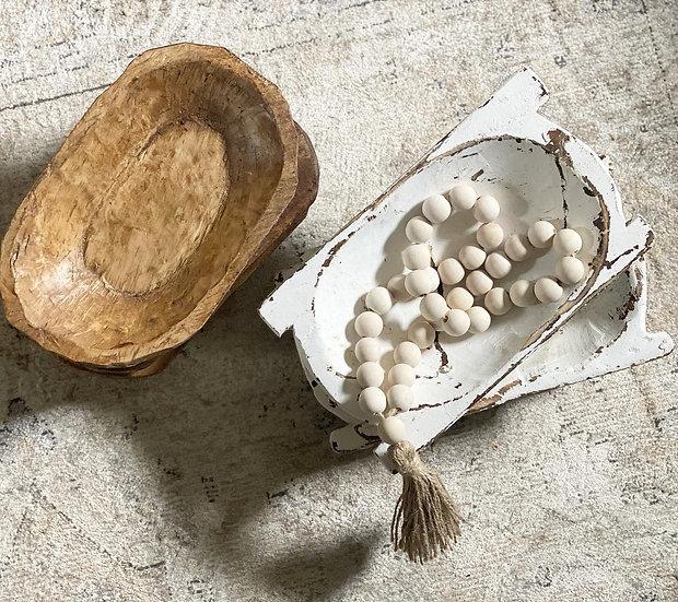 Noa mango wood bowl