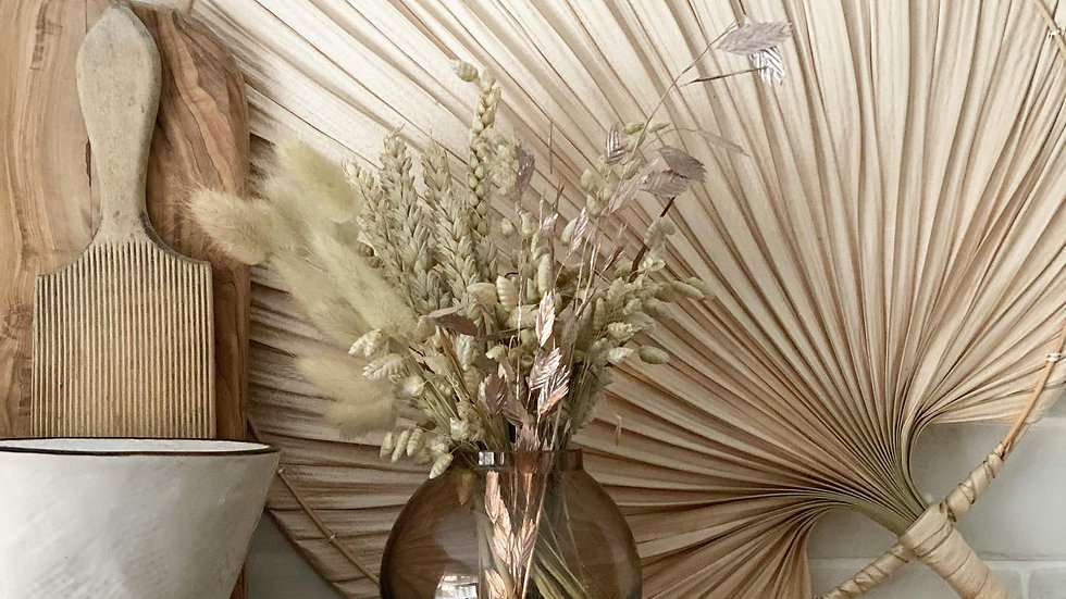 Homeware & mini bouquet monthly plan