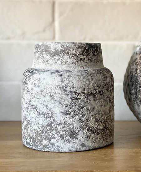 Shorter textured vase