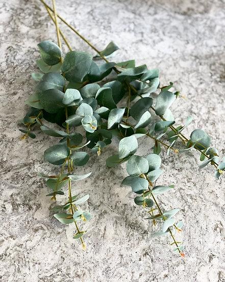 Faux eucalyptus stem 68cm long