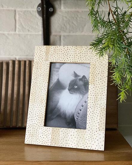Dotty photo frame