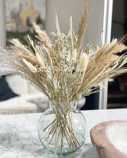 Riverside bouquet and vase bundle