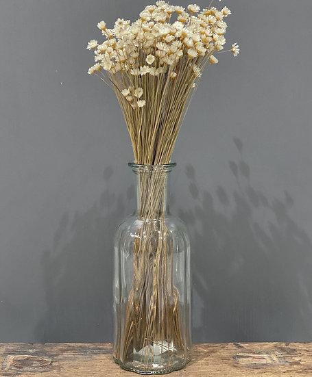 Flora Taller ribbed vase 19cm