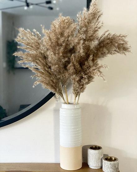 Pampas and vase bundle