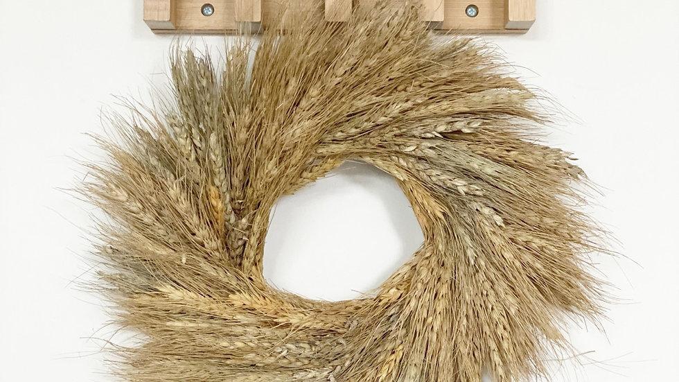 35cm diameter dried wheat wreath