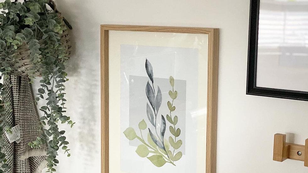 Larger olive print 30cm by 40cm
