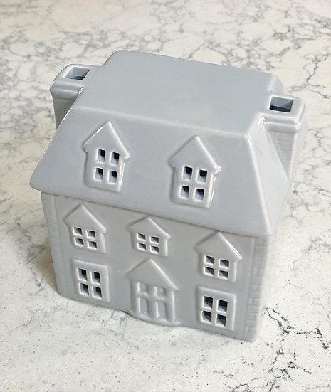 Grey wax melt house