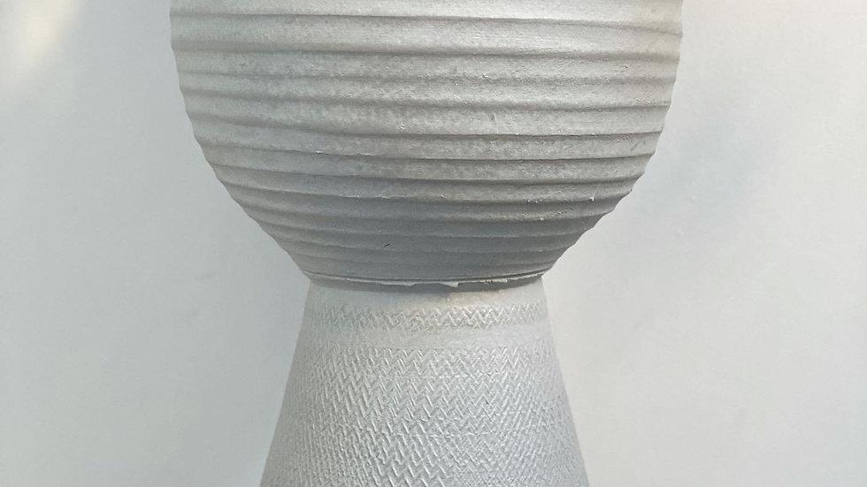 Large grey Marlou vase