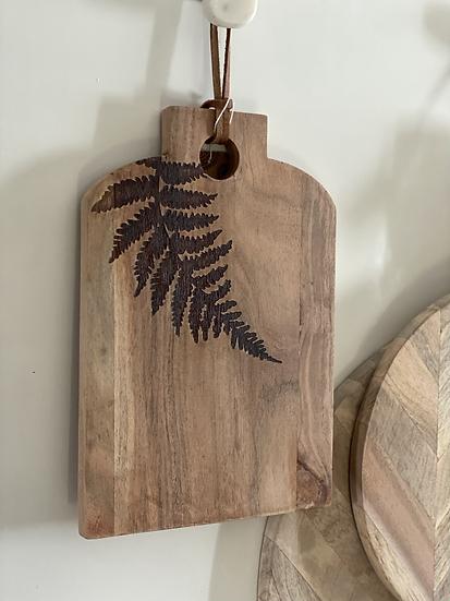 Fern cutting board