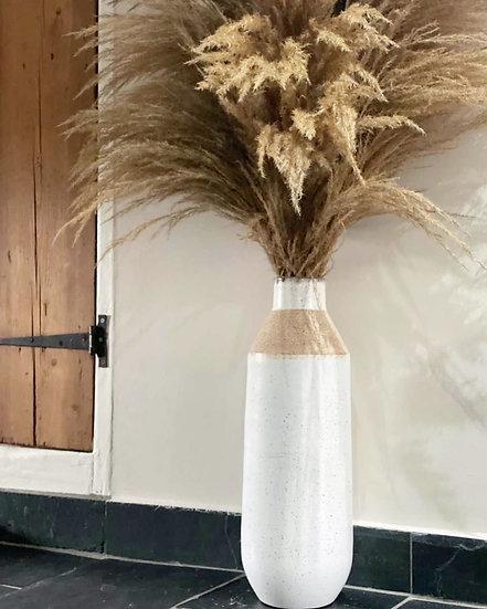 Sandy large floor vase
