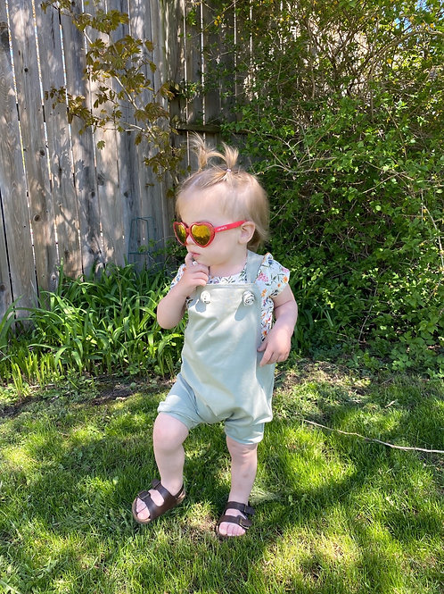 Knotted Shorts Overalls