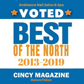 Ambiance Nail Spa | Ohio | Voted Best Manicure & Pedicure