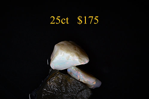 25ct Lightning Ridge Rough Opal