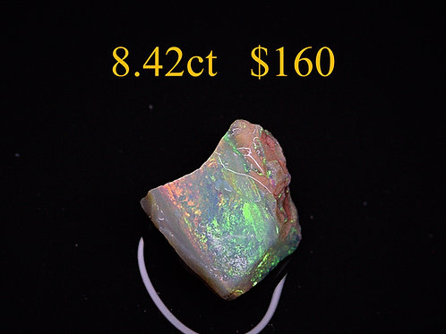 8.42ct Lightning Ridge Rough Opal