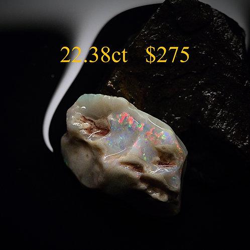 22.38ct Lightning Ridge Rough Opal