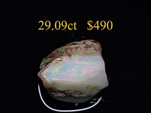 29.09ct Lightning Ridge Rough Opal