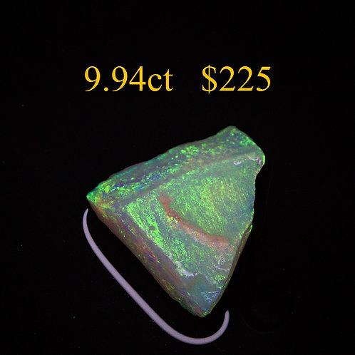 9.94ct Lightning Ridge Rough Opal