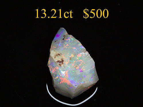 13.21ct Lightning Ridge Rough Opal