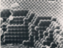silica spheres under extreme magnification