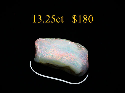 13.25ct Lightning Ridge Rough Opal
